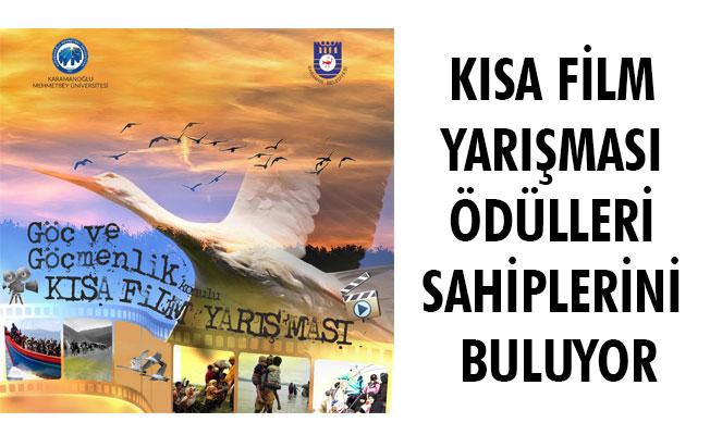 KISA FİLM YARIŞMASI ÖDÜLLERİ SAHİPLERİNİ BULUYOR
