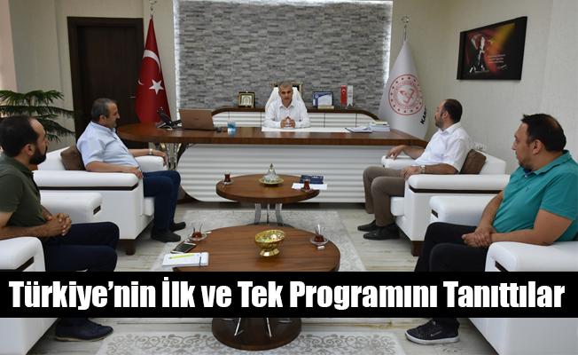 Türkiye'nin İlk ve Tek Programını Tanıttılar
