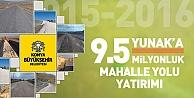 Yunak'da  mahalle yolları 9.5 milyon liraya yapılıyor