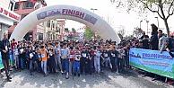 Hasköy Sahili'nde 23 Nisan Çocuk Koşusu Yapıldı