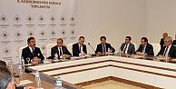 Karaman'da 2017 yılı yatırımları değerlendirildi