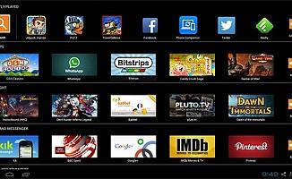 Android Telefondaki Oyunları Pc'de Oynama Programı