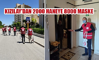KIZILAY'DAN 2000 HANEYE 8000 MASKE