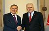 Başbakan Yıldırım, Tataristan Cumhurbaşkanı  Minnihanov ile görüştü